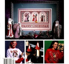 Celebrations, A Leisure Arts Magazine for Cross Stitch & Crafts Christma... - $4.95