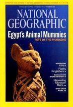 NATIONAL GEOGRAPHIC NOVEMBER 2009, EGYPT'S ANIMAL MUMMIES, WHEN CROCS RULED - $3.95