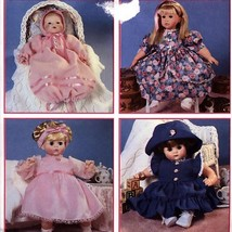 446 Design Your Own Doll Clothes 12 to 22 inch Doll Wardrobe OOP Pattern... - $5.95