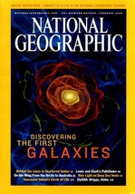 National Geographic Feb 2003, First Galaxies,  Shattered Sudan, Sacagawea - $3.95