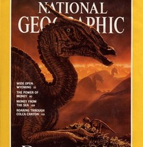 National Geographic Jan 1993 Dinosaurs, Wyoming, Power of Money, Shell M... - $3.95