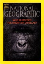 NATIONAL GEOGRAPHIC JULY 2008, WHO MURDERED MOUNTAIN GORILLAS, TYRANNOSA... - $3.95