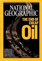 National Geographic June 2004, End of Cheap Oil, Shiites of Iraq, Cliff ... - $3.95