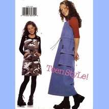 803 Teens Easy A-Line Jumper Sewing Pattern, Girls sz 32½ to 35½ Bust Uncut - $5.75