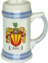 Bucket Coat of Arms Stein / Family Crest Tankard Mug - $21.99