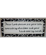 """""""Dear Lord Please"""" Antique Style Wall Art Sign Home Decor - $12.00"""