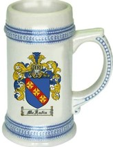 Mcfadin Coat of Arms Stein / Family Crest Tankard Mug - $21.99
