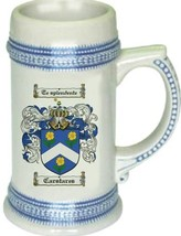 Carstares Coat of Arms Stein / Family Crest Tankard Mug - $21.99