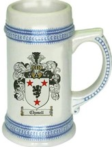 Chesell Coat of Arms Stein / Family Crest Tankard Mug - $21.99