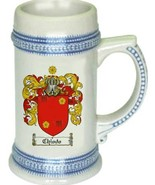 Chiodo Coat of Arms Stein / Family Crest Tankard Mug - $21.99