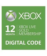 12-Month{1 year} Xbox 360/ONE Live Gold Membership Code [DIGITAL] /p - $50.44