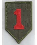 US ARMY 1st INFANTRY DIVISION - MILITARY PATCH - THE BIG RED ONE - $7.99
