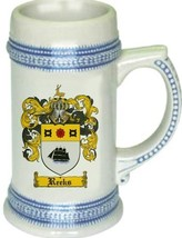 Reeks Coat of Arms Stein / Family Crest Tankard Mug - $21.99