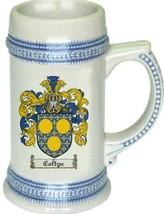 Coffyn Coat of Arms Stein / Family Crest Tankard Mug - $21.99