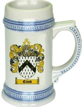 Creed Coat of Arms Stein / Family Crest Tankard Mug - $21.99