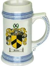 Flecke Coat of Arms Stein / Family Crest Tankard Mug - $21.99