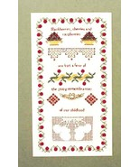 Friends In Needlework Bountiful Berries Counted Cross Stitch Pattern New - $12.73
