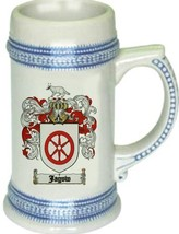 Jagow Coat of Arms Stein / Family Crest Tankard Mug - $21.99