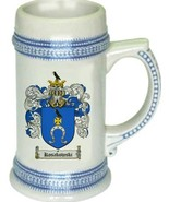 Kosakowski Coat of Arms Stein / Family Crest Tankard Mug - $21.99