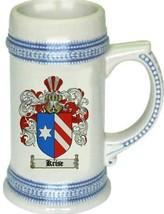 Krise Coat of Arms Stein / Family Crest Tankard Mug - $21.99