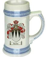Larder Coat of Arms Stein / Family Crest Tankard Mug - $21.99
