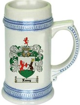 Leavy Coat of Arms Stein / Family Crest Tankard Mug - $21.99