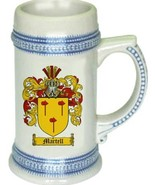 Martell Coat of Arms Stein / Family Crest Tankard Mug - $21.99