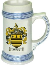Midgely Coat of Arms Stein / Family Crest Tankard Mug - $21.99