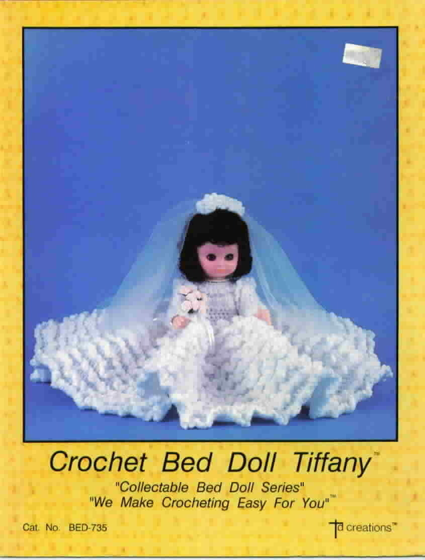 TD Creations Crochet Bed Doll Tiffany