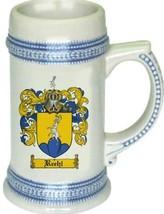 Reehl Coat of Arms Stein / Family Crest Tankard Mug - $21.99