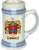 Scheitlin Coat of Arms Stein / Family Crest Tankard Mug - $21.99