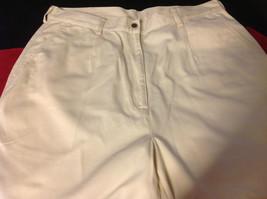 L L Bean womens cream color pants size 16 regular