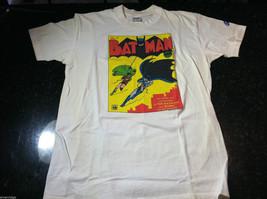 "Vintage Screen Print Batman Comic Book T-Shirt ""All Brand New Adventures of..."""