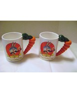 Bugs Bunny 50th Anniversary Mugs with Carrot Handles - $15.00
