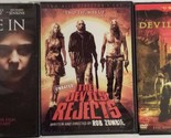 Lot of 3 Thriller Horror The Devil's Rejects The Devil's Chair Let Me In