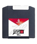 Iomega Zip Disk, 100MB Ten Pack, Formatted for PC, Multicolored (Discont... - $49.49