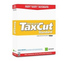 2003 TaxCut Standard Federal Filing Edition From H&r Block [CD] Windows 98 / ... - $14.84