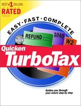 Quicken TurboTax (Tax Year 2000) [CD-ROM] Windows 98 / Windows 2000 / Wi... - $19.20