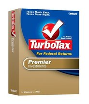 2006 TurboTax Premier Federal Investments Win/Mac [OLDER VERSION] [CD-RO... - $39.59