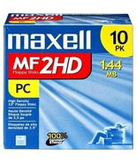 Maxell 3.5 HD 1.44MB Pre-Formatted MF2HD 10-Pack - $19.79
