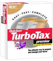 TurboTax 2001 Premier [CD-ROM] Windows 98 / Windows 2000 / Windows Me / ... - $128.69