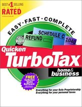 Quicken TurboTax Home & Business (Tax Year 2000) [CD-ROM] Windows 98 / W... - $98.99
