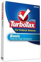 TurboTax Basic Federal + eFile 2008 [OLD VERSION] [CD-ROM] Windows Vista... - $6.92
