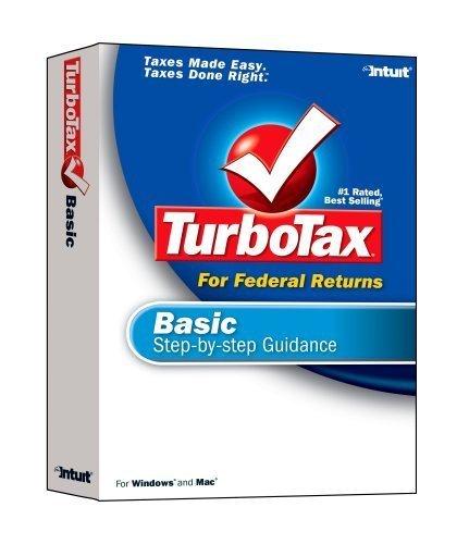 2006 TurboTax Basic Federal Win/Mac [OLDER VERSION] [CD-ROM] Windows Vista / ... - $14.84