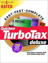 TurboTax Deluxe 2000 (PC) [CD] Windows - $19.79