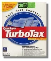 2000 TurboTax Basic Federal [CD-ROM] Windows 98 / Windows NT / Windows 2... - $15.44