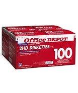 "Office Depot(R) 3 1/2"" Bulk Diskettes, IBM(R) Format, DS/HD, Black,... - $158.39"