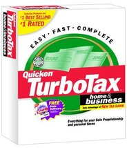 TurboTax 2001 Home & Business [CD-ROM] Windows 98 / Windows 2000 / Windo... - $138.59