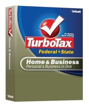 TurboTax Home & Business Federal + State 2007 [OLD VERSION] [CD-ROM] Win... - $34.64