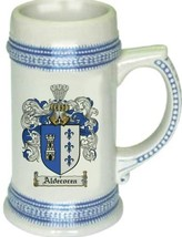 Aldecocea Coat of Arms Stein / Family Crest Tankard Mug - $21.99